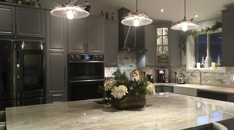 Centered Kitchen